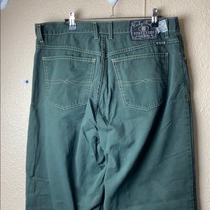 Vintage lucky brand jeans 36 green baggy fit 61